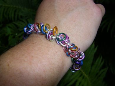 Jeweled Loop Bracelet