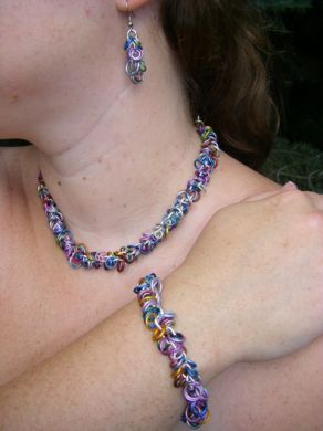 Jeweled Loop Set