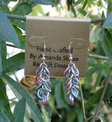 Jeweled Loop Earrings