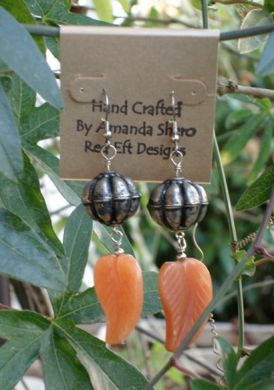 Bali Leaf Earrings