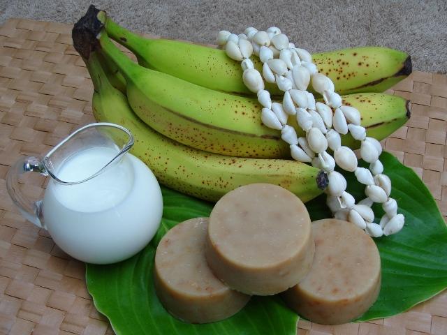 Banana Smoothie Soap