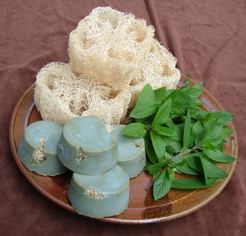 Eufahmint Eucalyptus Loofah Mint Soap