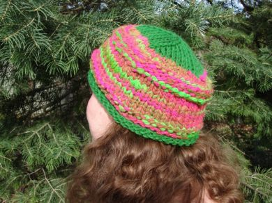 Watermelon Knit Hat